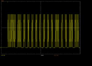 Oscilloscope Capture for PM IR receiver