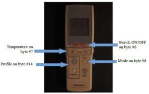 Panasonic AC Rremote1