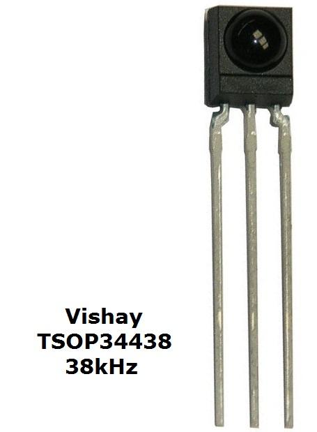 Vishay TSOP34438 38kHz Infrared receiver
