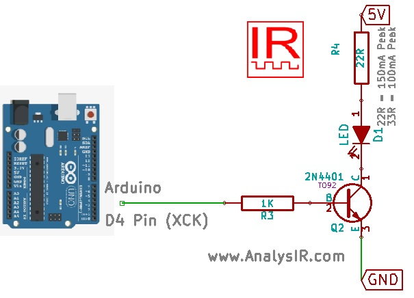 Arduino uPWM Circuit Diagram