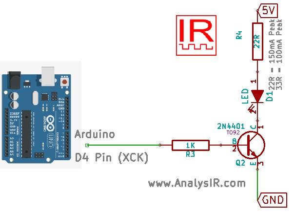 Arduino uPWM Circuit Diagram