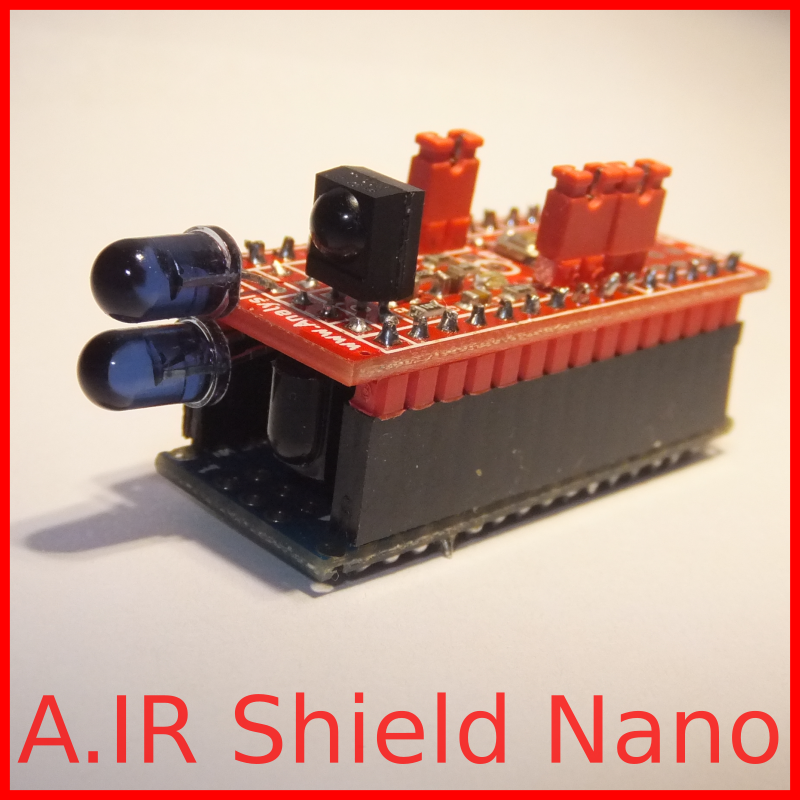 A IR Shield Nano, advanced infrared module