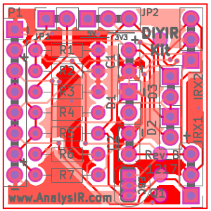 DIYIR PCB